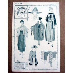 Moda / Ultimos Modelos / Gravura / 1917 / Eu Sei Tudo