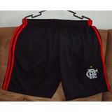 Calção Shorts De Times De Futebol - Flamengo (preto) 0d576e20b63e0