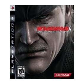 Metal Gear Solid Iv - Mgs4 - Guns Of The Patriots - Ps3