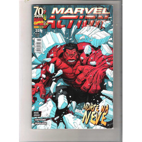 Revistas Marvel Action N. 32-33 - Morte Na Neva - Hulk
