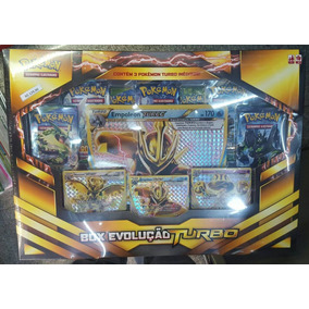 Box Evolução Turbo Pokemon