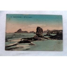 Cartão Postal Niterói Itapuca Icarahy Rio De Janeiro