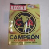 Revista America Campeon 2013 Record Edición Limitada