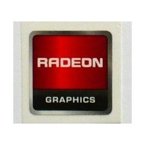 Adesivo Original Radeon Graphics - Grande (layout Antigo)