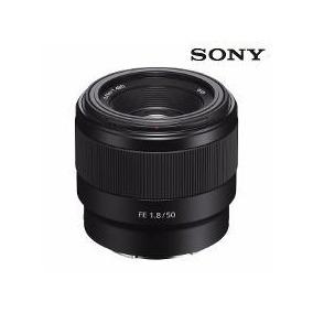 Lente Sony E 50mm F/1.8 Oss E-mount (sel50f18) - Preta