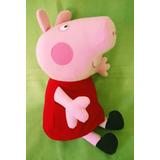 Muñeca Peppa Pig O George Peluche Grande! 55 Cm