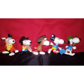 Set De 5 Snoopy United Feature Syndicate 1958-1966 Original