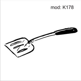 Adesivo K178 Utensilios De Cozinha Espatula De Frigideira c769806468067