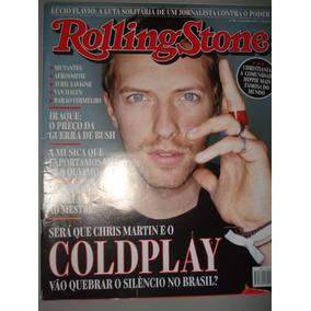 Revista Rolling Stone N 5-coldplay,rod Stewart,caetano,elis