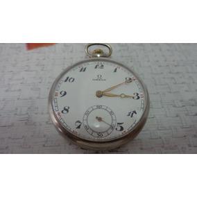 a6d2896d1d2 Lindo E Antigo Relógio De Bolso Suiço Marca Ômega .