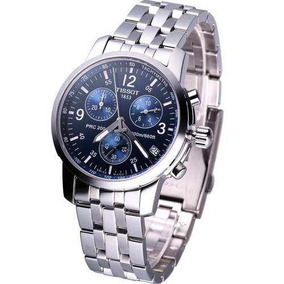 f3790268319 Relógio Tissot Prc200 Fundo Azul - Relógios De Pulso no Mercado ...