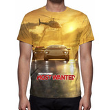 Camisa, Camiseta Game Need For Speed Most Wanted