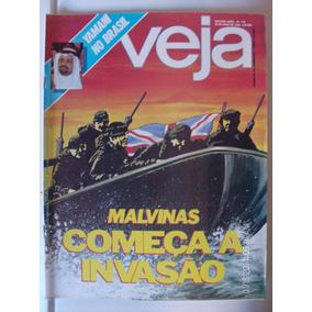 Revista Veja N- 716 Malvinas Começa A Invasão