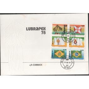 Fdc 164 - Lubrapex 78 - Cartela