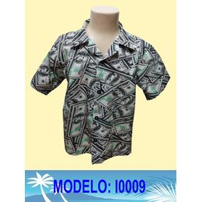 ea805a8334 Camisa Infantil Hawaiana ´´riquinho I0009´´