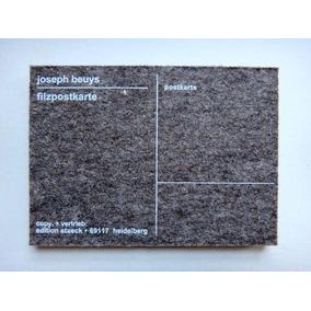 Joseph Beuys - Filzpostkarte - Cartão Postão Feltro Ed. Ltda
