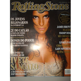 Revista Rolling Stone N 3-ivete San,roberto Carlos,kiss,jame