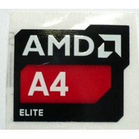 Adesivo Original Amd A4 Elite
