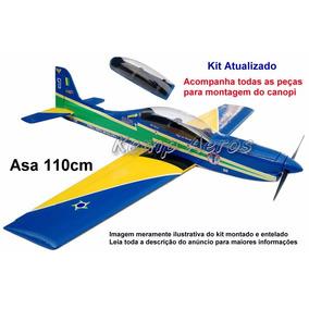 Aeromodelo Tucano T-27 Kit Para Montar - Kit Kemp Aeros $