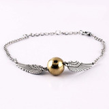 Pulsera Snitch Harry Potter En Cajita