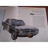 Una 1 Revista De Coleccion Historia Del Dodge Dart