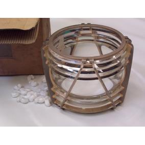 Linterna Cristal Faro Boya Antiguo