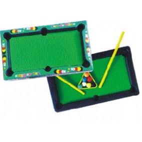2 Mini Jogo De Bilhar Big Boy - Brinquedo Infantil Educativo