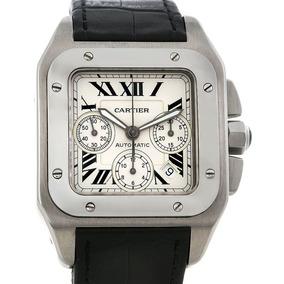 Cartier Santos 100 Xl Cronógrafo Zerado