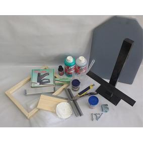 Kit Inicial Para Silk Screen Numero 2
