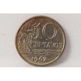 Moeda 10 Centavos 1967