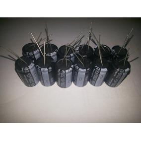 Capacitor Eletrolitico 2200x63v 105º Lote Com 12 Peças