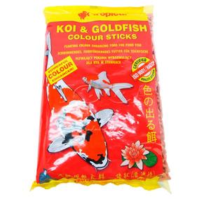 Ração P/ Carpas E Kinguios Tropical Colour Sticks 90g