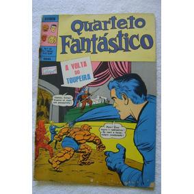 Estreía No.10 (1a. Série) Quarteto Fantástico Out 1970 Ebal