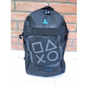 Mochila Playstation Porta Notebook / Skate Logo Grande