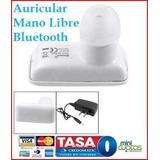 Mano Libre Audífono Mano Libre Bluetooth Celulares Pc Androi