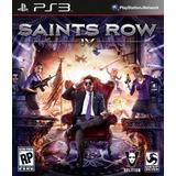 Saints Row 4 Ps3 Digital Gcp