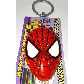 Chaveiro Metálico - Homem Aranha