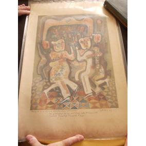 Serigrafía Severi Dedicado Firmado( Bailando C. A . Quilmes)