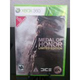 Medal Of Honor Limited Xbox 360 Nuevo Citygame