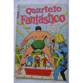 Estreía No.2 (1a. Série) Quarteto Fantástico Fev 1970 Ebal