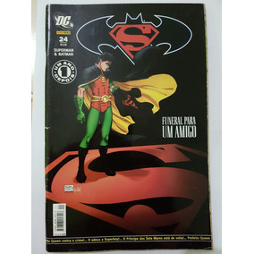 Superman & Batman N° 24 - Funeral Para Um Amigo