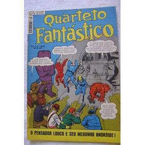 Estreía No.3 (1a. Série) Quarteto Fantástico Mar 1970 Ebal