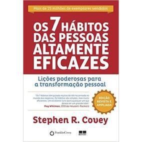 Os 7 Hábitos Das Pessoas Altamente Eficazes - Frete 13 Reais