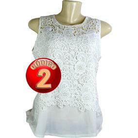 56362cb871 Camisa Social Sem Mangas Femininas Branco no Mercado Livre Brasil