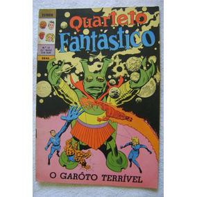 Estreía No.12 (1a. Série) Quarteto Fantástico Dez 1970 Ebal