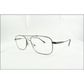 534cdd2bb9501 Armação Aviador De Titanium Óculos De Grau Preto A571 - Óculos no ...