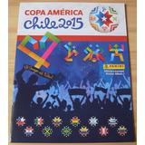 Album Copa America Chile 2015 Panini , Vacio Sin Cromos