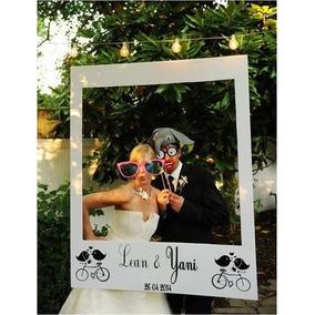 Photo Booth Marco Tipo Polaroid (+ 30 Props) 15 Años, Bodas
