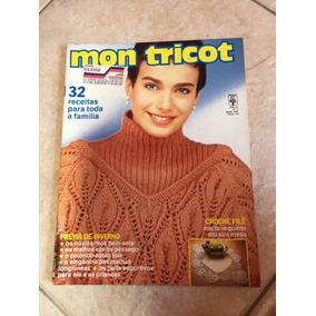 Revista Mon Tricot 32 Receitas - Revistas de Coleção no Mercado ... 34a633a0da9