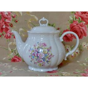 Tetera Porcelana Verbano Vanna Gran Bouquet